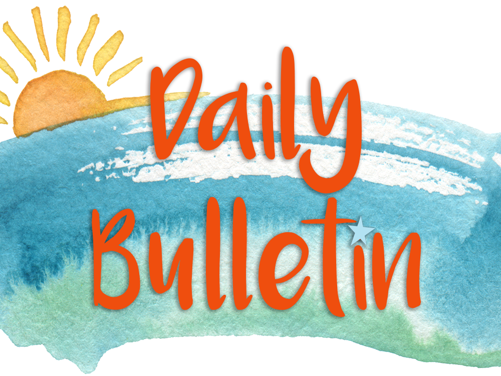 Daily Bulletin for January 24, 2020