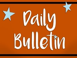 Daily Bulletin for Wednesday, Sept. 4