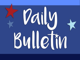 Daily Bulletin for November 8, 2019
