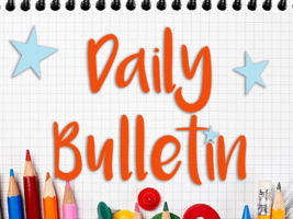Daily Bulletin for September 25, 2019