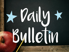 Daily Bulletin for January 8, 2020