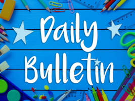 Daily Bulletin for October 8, 2019